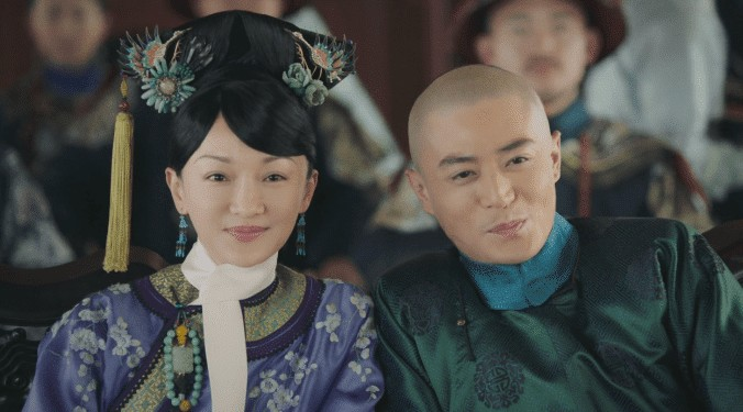 Wallace Huo and Zhou Xun in Ruyi's Royal Love in the Palace